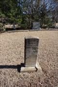 Image for Elizabeth Wilson -- Big A Cemetery, Rowlett TX