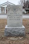 Image for Maude J. Williamson - Eastman Cemetery - Eastman, OK
