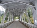 Image for Howe Truss - Short Covered Bridge - Oregon