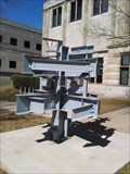 Image for Chi Epsilon Connections Sculpture - University of Arkansas - Fayetteville AR