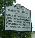Image for Harmony Hall, Marker F-49