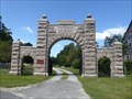 Image for Hinsdale Cemetery Arch - Hinsdale, MA
