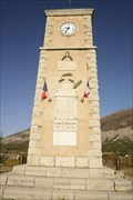 Image for Monuments aux morts- Tour Horloge- Aspres sur Buech- Hautes-Alpes- PACA- France