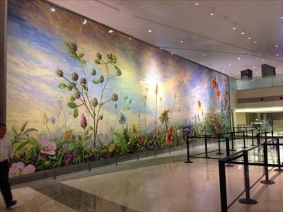 mural at security