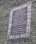 Image for Pepys, Hartley, Etty & Stanfield -- Buckingham Street, City of Westminster, London, UK