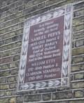 Image for Pepys, Hartley, Etty & Stanfield -- Buckingham Street, City of Westminster, London, UK