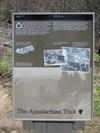 Interpretative Sign, Newfound Gap, Tennessee