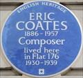 Image for Eric Coates - Chiltern Court, Baker Street, London, UK