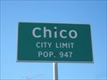 Image for Chico, TX - Population 947