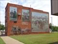 Image for Farmers Bank Mural - Route 66 - Davenport, Oklahoma, USA.