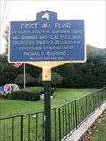 Image for First MIA Flag - Harriman, New York