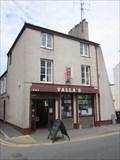 Image for Vallas Fish & Chip Shop, High Street, Bangor, Gwynedd, Wales, UK