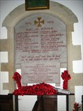 Image for Chesterton - St Marys Church  Combined War Plaque