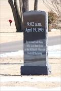 Image for 1995 OKC Bombing marker - Arlington Memory Gardens - OKC, OK