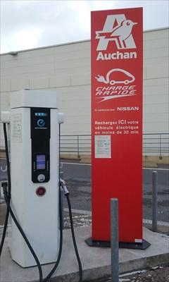 Station De Rechargement électrique Parking Centre Commercial
