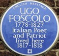 Image for Ugo Foscolo - Edwardes Square, London, UK