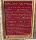 Image for Bataille-de-Trois-Rivières - Battle of Trois-Rivières - Trois-Rivières, Québec