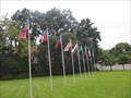 Image for Eugenia Sterne Park Flags - Nacogdoches, TX USA