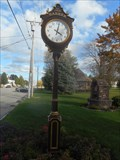 Image for Village Clock - Barker, NY