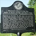 Image for Sherman's March to the Sea: Battle of Shaw's Bridge and Shaw's Dam - Savannah, GA