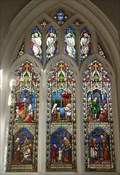 Image for Stained Glass - St Mary's, Church Lane, Ashwell, Herts, UK.