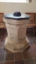 Image for Baptism Font - St Nicholas - Shangton, Leicestershire