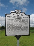 Image for Battle of Green Spring