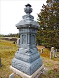 Image for Wass Family Headstone - Columbia Falls, ME