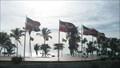 Image for Flags of the world - Parque del Mar, Santo Domingo, Dominican Republic
