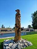 Image for Mason City Memorial Park Chainsaw Carving - Coulee Dam, WA