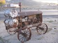 Image for Old Tractor at Toponah Station Casino, NV
