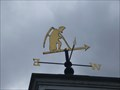 Image for Farmer Weathervane - Wybunbury, Cheshire, England, UK.