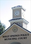 Image for Holly Springs Public Safety Building Clock - Holly Springs, GA