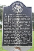 Image for FIRST - Wave of Swedish Immgration to Texas, Samuel Johan Forsgard, First Street Cemetery, Waco, TX