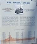 Image for USS WAHOO - Lost at Sea Memorial - Pearl Harbor, Oahu, Hawaii.