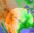 Image for ISS Sighting - Trail, BC - Edmond, OK - Lehigh Acres, FL - Site 2