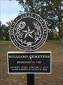 Image for Williams Cemetery