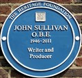 Image for John Sullivan Blue Plaque - Teddington Studios, Broom Road, Teddington, London, UK
