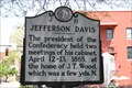 Image for Jefferson Davis, Marker J-21
