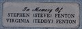 Image for Stephen and Virginia Fenton Memorial Bench ~ Boulder City, Nevada