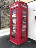 Image for Warley Museum, a repurposed red telephone box - Halifax, UK