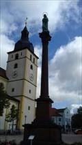 Image for Mariensäule am Unteren Marktplatz - Mitterteich, Bayern, Deutschland