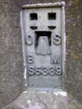 Image for New Bines Trig Pillar with Flush Bracket, Sussex, UK.