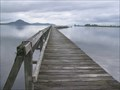 Image for Tokaanu Wharf.  Lake Taupo. New Zealand.