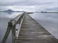 Image for Tokaanu Wharf.  Lake Taupo. New Zealand.