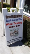 Image for Carmel Ridge Winery - Monterey, CA
