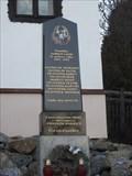 Image for Pomnik Obetem 1. a 2. svetove valky - Borovnik, Czech Republic