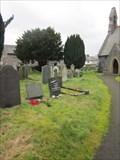 Image for Cemetery, Church of St John the Evangelist, B4401, Cynwyd, Denbighshire, Wales, UK