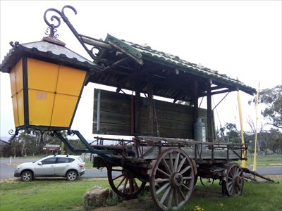The 'rear' of the Covered Wagon. 1858, Friday, 28 December, 2018