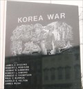 Image for Korean War - Clark County Veterans Memorial - Marshall, IL